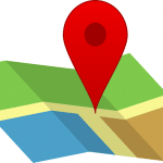 local map pin for locksmith